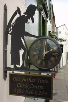The Old Father Time Clock Centre